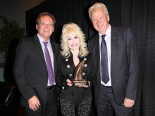 Dolly Parton mottagare av Liseberg Applause Award