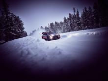 i20 WRC & Thierry Neuville på vintertest i Arjeplog