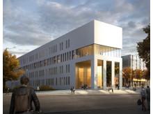 Skiss Kungliga Musikhögskolan, Stockholm