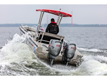 Hi-res image - YANMAR - YANMAR's Dtorque diesel outboard engine is available for live demos at this year's Kieler Woche in Kiel, Germany