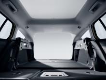 Nye Ford Focus med bagasjerom på hele 608 liter, når alle setene er i bruk og 1653 liter når baksetet er lagt ned.