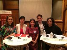 Panel at New Media Relations Conference