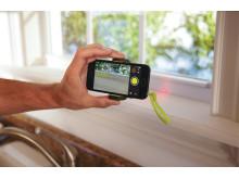 RYOBI® PHONE WORKS™ Forvandler din mobil til dit smarteste værktøj (version: RPW-2000)