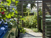 Miljöhus under tak