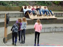 Spielplatzprojekt - Chill-Bank Bühne