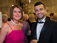 Having a ball at the Mayor's charity extravaganza