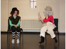 Miniläger - dans och drama