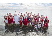 Juletomter badning