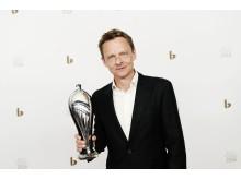 Årets Mandlige Hovedrolle 2016 går til Olaf Johannessen for sin rolle som den magtfulde og humørsyge godsejer i 'Puntila' på Det Kongelige Teater.