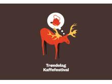 Trøndelag Kaffefestival - plakat elg