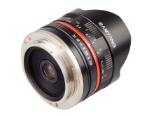 Samyang 8mm F/2,8 Sony NEX ja Samsung NX, takaa