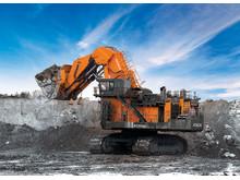 (6) Hitachi EX 8000-6 (837 ton) // (19,0 metre)
