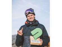 Mons Røisland er OL-klar. Foto: Glenn C. Pettersen / Snowboardforbundet