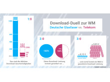Infografik: Download-Duell zur WM