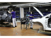 Volkswagen kommer gradvis att starta om produktionen.