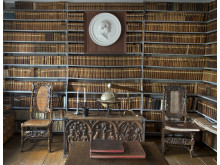Clas Frietzckys bibliotek på Säbylund