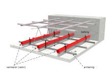 Varmerør i betong