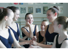 Ballet Girls Chatting