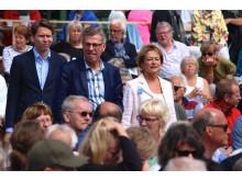 Kulturministern med Kjell Åke Hansson