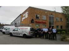 Hi-res image - Fischer Panda - The Fischer Panda UK team at the company's facility in Verwood, Dorset