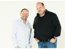Jesper Asholt og Mikkel Vadsholt