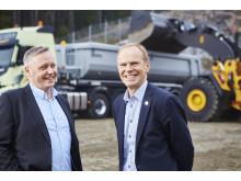 Christer Söderberg och Hans Börjesson - Swecon och Volvo Truck Center