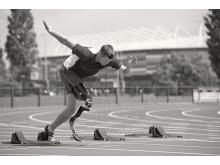 Sprint start Sport prosthesis