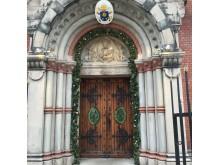 Heliga porten i katolska Domkyrkan i Stockholm