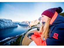 Fra Stegastein har du fullt overblikk over Aurlandsfjorden og deler av verdensarvområdet