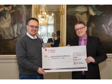 Michael Speckenbach and Philipp Geißler - Donation handover 2019-03-27