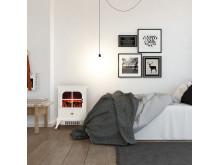 St. Moritz Elektrischer Kamin weiß 10031526