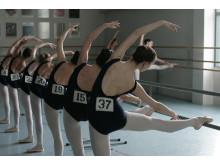 Ballet Girls at Barre