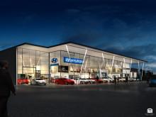 Ny exklusiv Hyundai-anläggning i Upplands Väsby