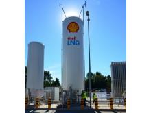 LNG-Tankanlage von Shell