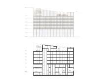 Skiss av profilbyggnaden i Dreems projekt i Kista, Stockholm