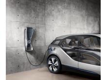 BMW och Schneider Electric EVLink