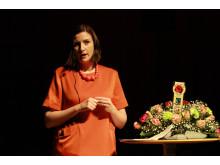 Birgitta Ohlsson talar vid Fairtrade City-konferens