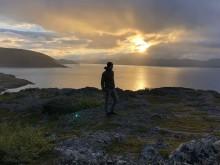 TH-Logistik-Student Lukas hat per Rad das Nordkap erreicht