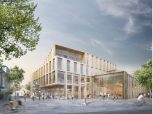 FOJAB Kunskaps- & Kulturcentrum Falkenberg Bibliotek Exteriör