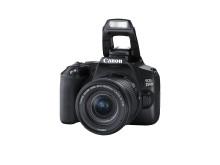 Canon EOS 250D med blits