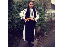 Rumänsk autentisk folkdräkt från Transsylvanien