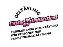 loggo för Väsby Melodifestival