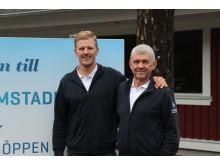 David  och Ulf Nordentjell