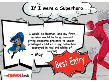 Superhero Contest