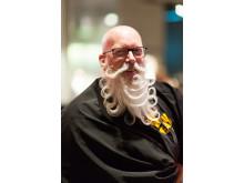 Avant Garde skäggstyling på World Beard Day. Stylist Fadi Maajoun.