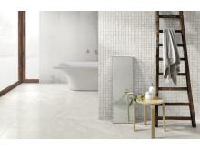Marmor i badrummet