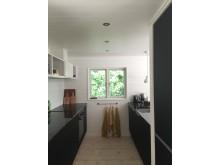 Køkken under hems