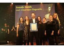Gull og hederlig omtale i kategorien årets PR-aktivitet. Foto: Camilla Bergan