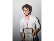 Anas Baker, Rusty Rascals - 2:a plats i Årets barberare 2018