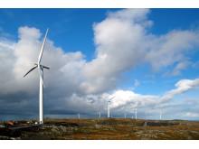 Illustrasjonfoto: Statkrafts vindmøllepark på Hitra